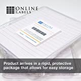 Business Card Stock - 3.5 x 2 - Pack of 1,000