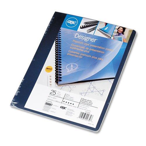Gbc Designer Premium Plus Back Cover , Navy Blue