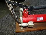 T&B Greenlee Hydraulic Hand/Foot Pump 13586, 9800 PSI