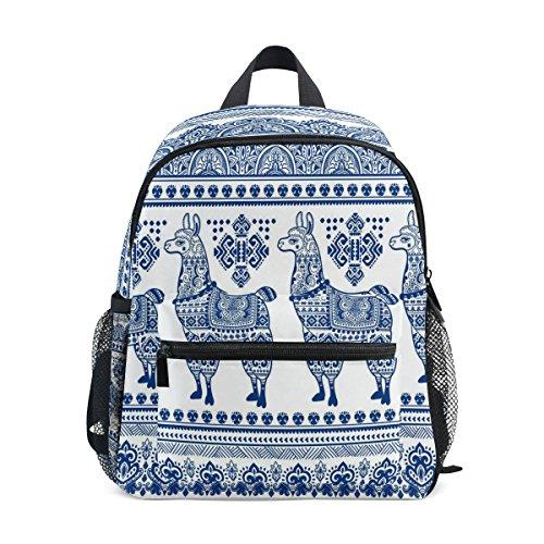 nbsp;School Cute Llama nbsp;for Exotic nbsp;Backpack Kids Boys nbsp;Bag nbsp;Toddler nbsp;Girls nbsp;Book ZZKKO Alpaca SxnWaYY