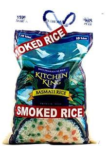 Smoked Basmati Rice - 10 Lbs