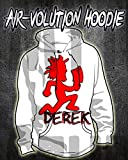 Personalized Airbrushed Juggalo Hatchetman Hoodie Sweatshirt