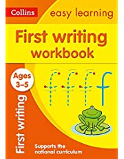 Collins Easy Learning Preschool - First Writing Workbook Ages 3-5: New Edition