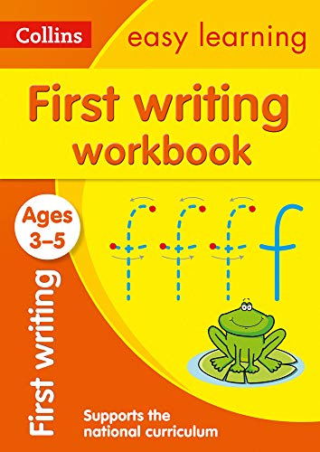 First Writing Workbook Ages 3-5: Ideal for home learning (Collins Easy Learning Preschool)