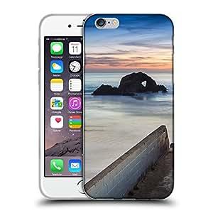 """Super Galaxy Coque de Protection TPU Silicone Case pour // F00000206 Paisaje del océano Estación tiempo de // Apple iPhone 6 6S 6G PLUS 5.5"""""""