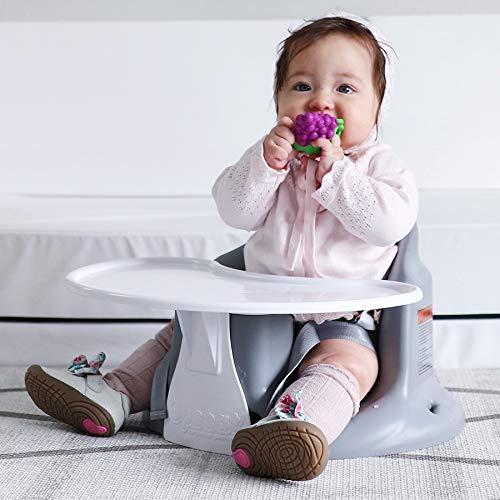 Highchair Upseat Floor /& Booster Seat Baby Seat Grey