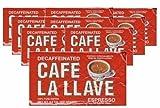 Comprar Cafe La Llave Decaf 10 PACK Cuban Espresso Ground Coffee 10 x 250 g en Amazon