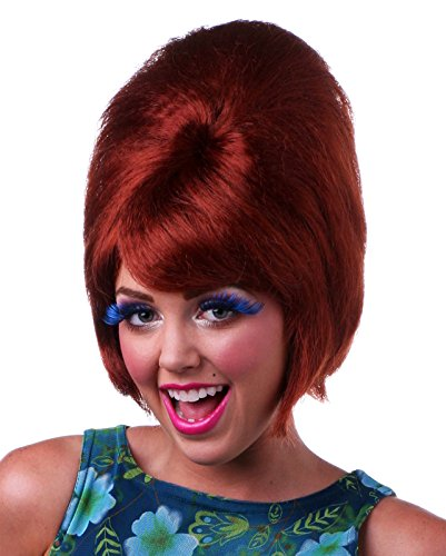 Natural Red Beehive Style Wig