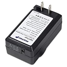 Compact Battery Charger Set for Olympus Li-50B