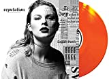 Reputation - Taylor Swift - FYE Exclusive 2 LP Translucent Orange Vinyl