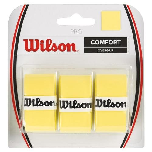 Wilson Tennis Racquet Pro Over Grip, Pink, Pack Of 3