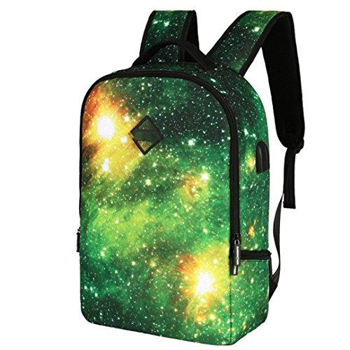 SHUB Space Men Laptop Bag Man Usb Charging Backpack School For Boys Girls Schoolbag Women Travel Backpacks A1061STAR