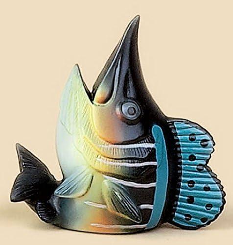 Coleccionable Marlin peces antena Topper y amarillo Smiley ...