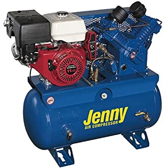 Jenny W11HGB-30P Two Stage Wheeled Portable Service