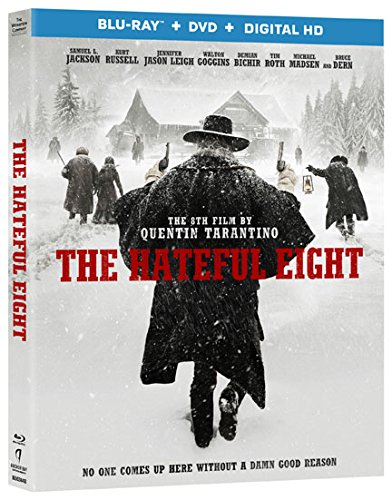 Blu-ray : The Hateful Eight (With DVD, Ultraviolet Digital Copy, 2 Pack)