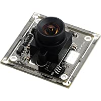 Spinel 2MP full HD USB Camera Module OV2710 with Non-distortion Lens FOV 100 degree, Support 1920x1080@30fps, UVC Compliant, Support most OS, Focus Adjustable, UC20MPB_ND