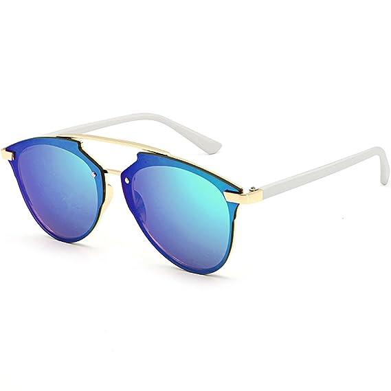 c9fcc73273 Gafas de Sol Retro Lentes cuadradas Polarizado Clásico UV400 Súper Ligero  Marco de Metal Gafas de marco grande Unisex Multicolor Sunglasses Deportes  al aire ...