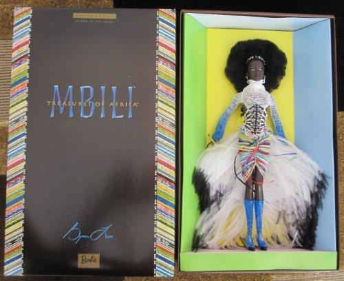 Mattel マテル Barbie バービー バイロン・ラーズ トレジャーズ オブ アフリカ MBILI