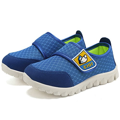 CIOR Kid's Mesh Lightweight Sneakers Baby Breathable Slip-On For Boy and Girl's Running Beach Shoes(Toddler/Little Kid) 14