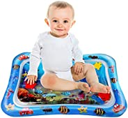 Marysay Infant Toys Tummy Time Mat Baby Water Mat Inflatable Baby Play Mat for Baby Boys Newborn Girls