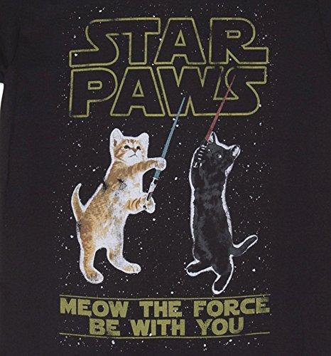 Star Paws Parodie Herren T Shirt