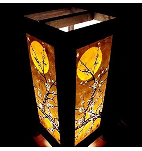 Moon Sakura Table Lamp Lighting Shades Floor Desk Outdoor Touch Room Bedroom Modern Vintage Handmade Asian Oriental Wood Bedside Gift Art Home Garden Christmas; Free Adapter; Us 2 Pin Plug #98 Copter Shop post thumbnail