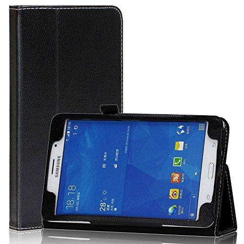 Tab 4 7 Case - SAWE Samsung Galaxy Tab 4 7.0 Folio Case - Slim Fit Premium Leather (Nook Samsung 7 Inch Cover)