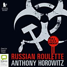 Russian Roulette: The Story of an Assassin (Alex Rider) Audiobook by Anthony Horowitz Narrated by Rupert Degas