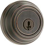 Kwikset Signature Series 99800-089 Venetian Bronze SmartKey™Single Cylinder Deadbolt