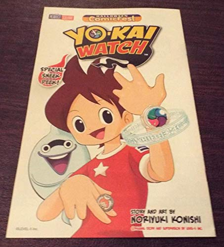 YO-KAI WATCH #1 Halloween ashcan, Promo, 2015, NM, Noriyuki Konishi -