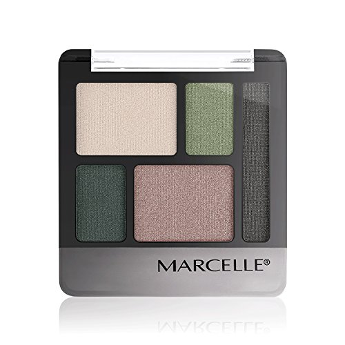Marcelle Quintet Eyeshadow, Hunter Green, Hypoallergenic and Fragrance-Free, 0.20 oz]()