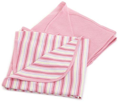Gerber Baby-girls Newborn 2-Pack Thermal Blanket