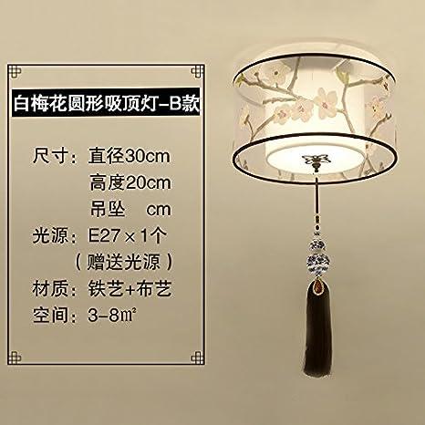 Luces de lámpara China nueva ronda pasillo luz de pasillo ...