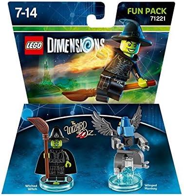 LEGO Dimensions Fun Pack Wicked Witch - Juegos de construcción, 7 ...