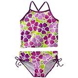 Kanu Surf Big Girls' Florence Tankini Swimsuit, Purple, 10