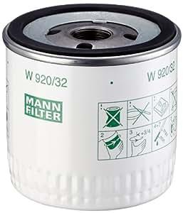 Mann-Filter W 920/32 Filtro de Aceite - descontinuado por el fabricante