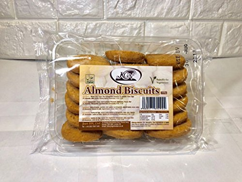 KGN biscuits Box of 12 packets 12 X 225g (almond)