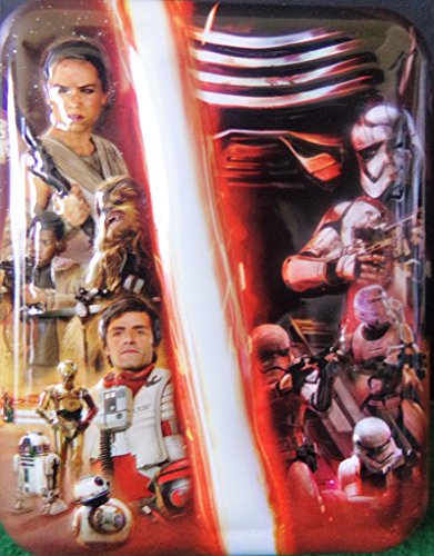Star Wars TFA Resistance vs. First Order Playing Cards in Collectible Tin First Collectible