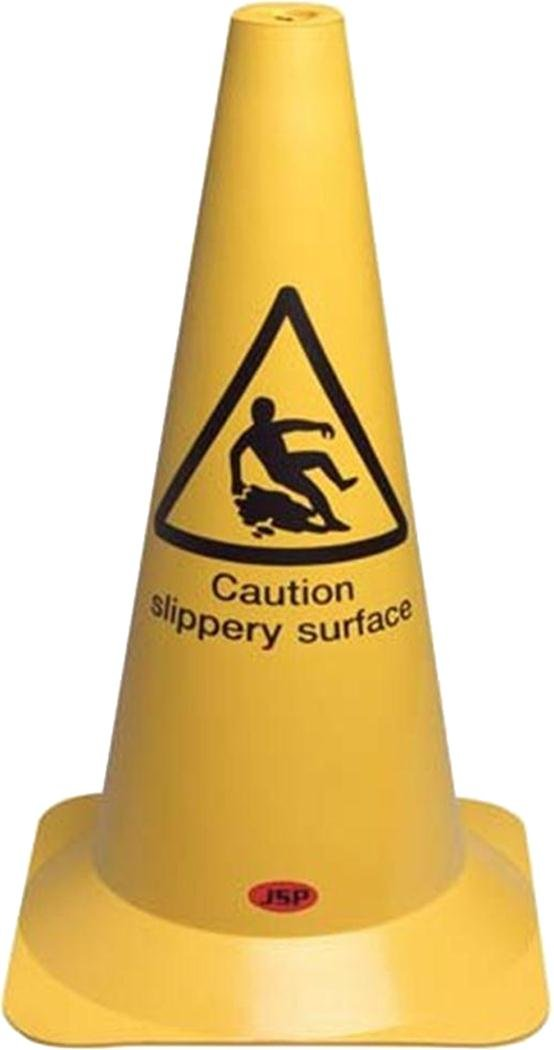 Floor Cleaning In Progress Or Slippery Surface PVC Caution Warning Cones