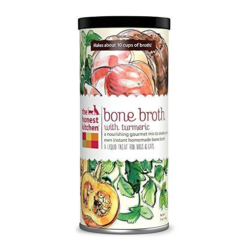 The Honest Kitchen 'Bone Broth Beef Bone Broth with Turmeric Canister, 5 oz