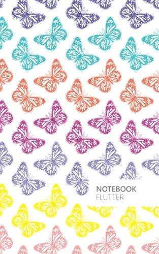 Flutter Butterfly Lined Notebook