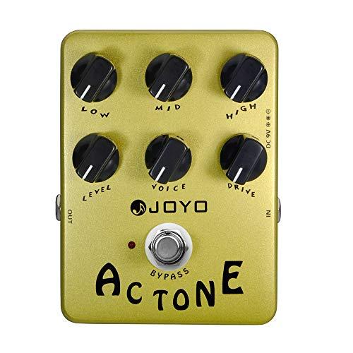 JOYO JF-13 AC Tone Guitar Effect Pedal, Analog Vox AC30 Amplifier Effect Pedals, Classic British Rock Sound