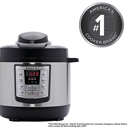 Big Save! Instant Pot LUX60V3 6-in-1 Muti-Use Programmable Pressure Cooker, Slow Cooker, Rice Cooker...