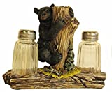 VoojoStore Bear On Tree Salt and Pepper Shakers - Unique Gift For Birthday Christmas Wedding Anniversary Engagement Graduation Couples Men Women Mom Dad Grandpa Sister Wife Husband Friends