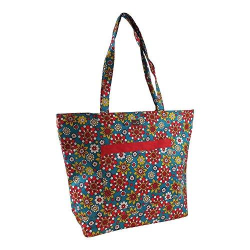 Della Q Willa Shoulder Yarn Bag 424-1 Belmont by della Q