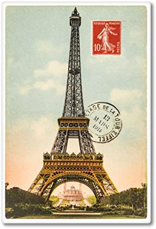 Paris Stamp Car Laptop Phone Vinyl Sticker SELECT SIZE