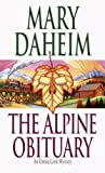 Front cover for the book The Alpine Obituary by Mary Daheim