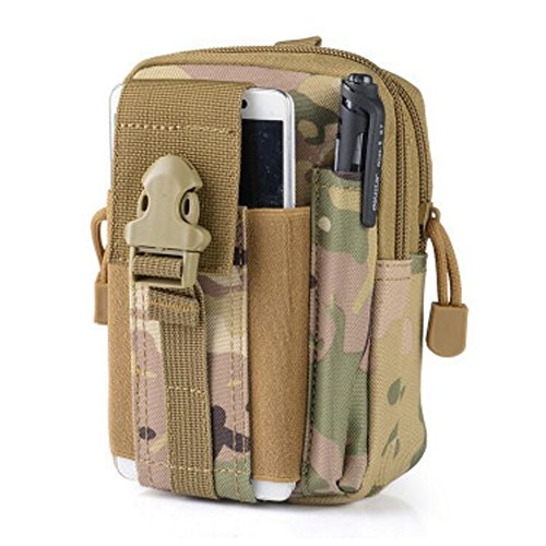 Waterproof 600D Oxford Waist Bag Tactical Molle EDC Outdoor Bag - 7