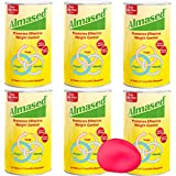 Almased Meal Replacement Shakes -Plant Based Protein Powder - Weight Management Shake and Meal Replacement - All Natural, Gluten Free, No Sugar Added (17,6 oz 6pack Bonus Stress Ball)