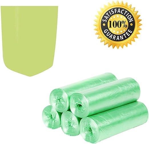Bolsas de basura biodegradables, bolsas de basura de 4 a 6 galones ...